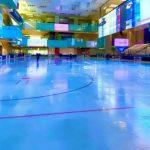 اولین پیست هاکی روی یخ ایران در ابعاد المپیک سایز ساخت شرکت پیشگامان تجارت و توسعه پایدار