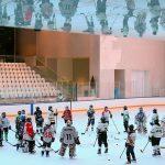 پیست هاکی روی یخ ایران مال ساخت شرکت پیشگامان تجارت و توسعه پایدار